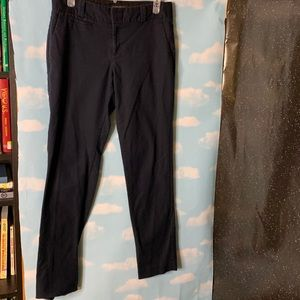 "Banana Republic- ""Martin Fit"" Skinny Navy Pants 8R"